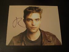 Robert Pattinson In Person Hand Signed Sexy 10x8 Photo Pose With Proof & COA
