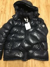 Authentic Moncler Hooded Dark Navy Maya Down Jacket