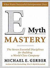 E Myth Mastery, Good Condition Book, Michael E. Gerber, ISBN 9780060723187
