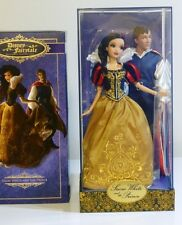 DISNEY SNOW WHITE AND PRINCE FAIRYTALE LE DOLL SET