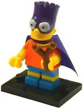 Genuine Lego 71009 The Simpsons Series 2 Minifigure no. 5 Bart as Bartman