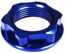 Aluminio azul abierto tuerca del yugo Suzuki GSF600 GSF1200 bandido GSXR1100 GSX1400