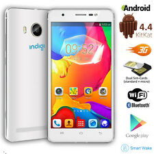 """Unlocked! 5.0"""" Android 4.4 DualSim 2Core 3G SmartPhone AT&T T-Mobile Straightalk"""