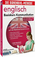 Birkenbihl-English-Basis-Kommunikation 4x CD,s+Booklett Neu+in Folie (L2)