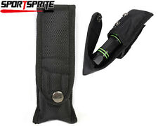 15cm Flip Nylon Pouch/Holster Cover Fit For Tactical Torch Lamp Flashlight UK