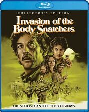 INVASION OF THE BODY SNATCHERS New Sealed Blu-ray 1978 Collector's Edition