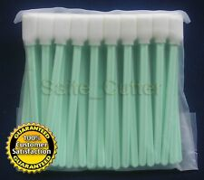 100pcs Solvent Foam Tipped Cleaning Swabs Swab Epson Roland Mimaki Mutoh Printer