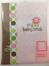 Baby Girl Polka Dot Theme Record Book Memory Album by Carter's Just One Year