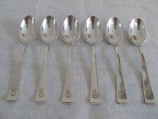 6 Moccalöffel von Koch & Bergfeld Belle Epoque in 800er Silber