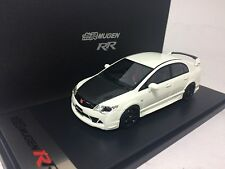 1/43 Mark CIVIC MUGEN RR 2008 FD2 TYPE-R White with Carbon Engine Hood