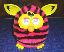 FURBY  Interactive Pink , Black Plush Pet Toy Hasbro Electronic, Digital Eyes