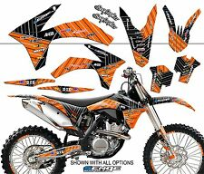 2003 2004 KTM SX 125 200 250 450 525 GRAPHICS KIT DECO DECALS MOTO STICKERS