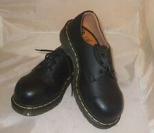New Made In England Dr. Martens 1925 UK 3/ US 5 Steel Toe Black Women's shoes