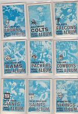 1969 Topps Football Four In One 4 in 1 PICK YOUR TEAM COMPLETE BOOKLETS NICE
