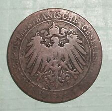 1892 German East Africa One Pice