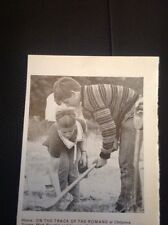 Ephemera 1967 Picture Chilgrove Sussex Mark Bowden Archaeological Dig  M486