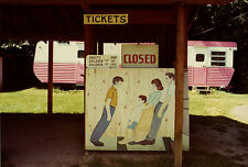 Ken BROWN: Pink Trailer Tilt, 1976 / Ektacolor Print / Printed 1982 / SIGNED