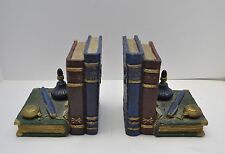 Vintage  Decorative Desk Accessories & Books Design Ceramic Bookshelf Bookends