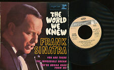 FRANK SINATRA EP FRANCE THE WORLD WE KNEW
