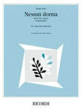 Nessun Dorma from the opera Turandot Sheet Music The Three Tenors NEW 050600004