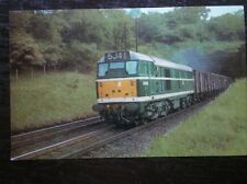POSTCARD BR EASTERN REGION DIESLE ELECTRIC LOCO NO D5610 NR WELWYN