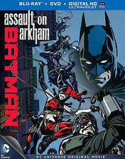 Batman: Assault on Arkham (Blu-ray/DVD, 2014, 2-Disc Set, Includes Digital...