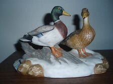 """Bart Jerner's Ducks """"The Mallard"""" figurine by Knowles~Limited 1st Edition~NICE!"""