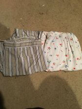 2 Pairs American EAgle XSmall Lounge Sleep Pajama Pants White Low Rise