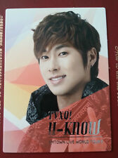 TVXQ DBSK Tohoshinki official SMTown III Korea version Yunho photocard type 1