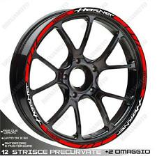 RIM WHEEL STICKERS SPORT WHITE RED HONDA HORNET 600 900 S