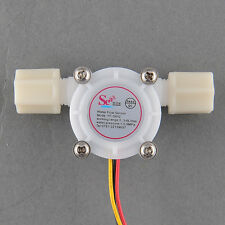 New Liquid Water Flow Sensor Switch Meter Counter Hall Sensor 0.3-6L/min #