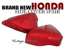 HONDA CB100 K0 K1 CB125S S0 SIDE COVER 1 PAIR *RED* [ID]
