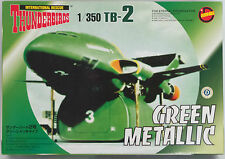 THUNDERBIRDS : 1/350 THUNDERBIRD 2 GREEN METALLIC VERSION MODEL KIT BY IMAI