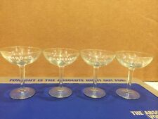 Chambord Liqueur Martini Glass Set Of 4