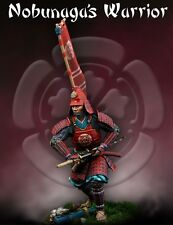 Scale 75 Samurai Nobunaga's Warrior Samurai 75mm Metal Unpainted Kit