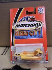 MATCHBOX RADAR PLANE #34 HERO-CITY  NIP