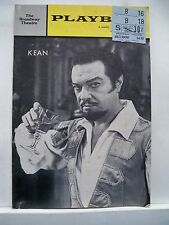 KEAN Playbill ALFRED DRAKE / LEE VENORA / PATRICIA CUTTS / LEE VENORA NYC 1961