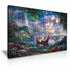 Disney Tangled  Kids Canvas Wall Art Picture Print 76x50cm Special Offer