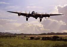 Avro Lancaster Bomber Command Aircraft Plane Birthday Fathers Day Blank Card