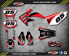 Full Custom Graphic Kit Honda CRF 450X 2005 / 2017 DIGGER style stickers/decals