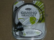MICROSOFT XBOX 360 LIVE GAMING HEADSET MICROPHONE BRAND NEW! Mic Wired Head Set