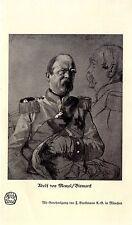 Adolf von Manzel Bismarck Historischer Kunstdruck aus dem Jahr 1914