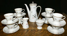 Rosenthal Mid Century Raymond Loewy Japanese Quince 21 Piece Tea or Coffee Set