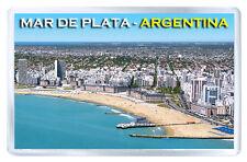 MAR DE PLATA ARGENTINA FRIDGE MAGNET SOUVENIR IMAN NEVERA