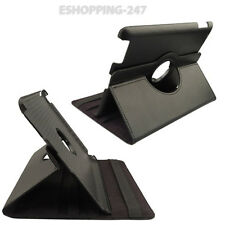 Black Leather Stand Case Cover Holder For iPad 2/3 & 4 360 Rotating Smart B199