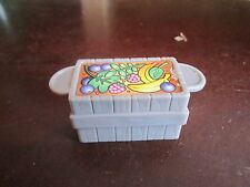 Fisher Price little people garden crate Banana Raspberry Blueberries
