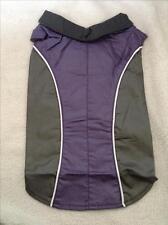 Manteau imperméable doublé polaire pour chien taille 36 cm -Gris et violet -Neuf