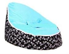 Cool Black Skull Baby Beanbag Baby Seat Kid Chair Baby Bean Bag Without Fillings