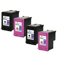 4 PK HP 61XL Black Color Ink Cartridge For Deskjet 1000 1010 1050 Show Ink