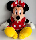 Disneyland Walt Disney World ~ Minnie Mouse ~ Plush Toy Doll Red Polka Dot Dress
